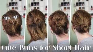 Schnelle Hochsteckfrisurenen Kurze Haare by Frisuren Für Kurze Haare 5 Dutt Varianten Für Kurze Haare