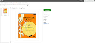 halloween city stores free halloween templates and printables for microsoft office