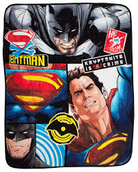superman peppa pig and other new batman vs superman clash fleece throw blanket kids movie