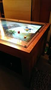 Gaming Coffee Table Coffee Table Multi Touch Gaming Mozayo Multitouch Coffee Table Ima