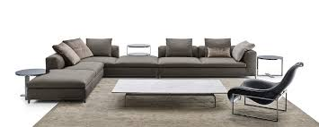 b b italia canapé corner sectional upholstered fabric sofa michel michel