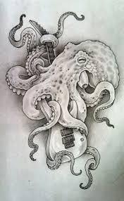 Guitar Tattoo Designs Ideas 55 Eye Catching Octopus Tattoos Ideas For Men And Women