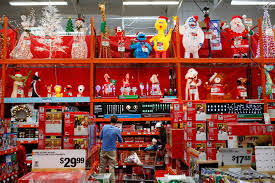 post christmas decorations deals at home depot walmart target sears