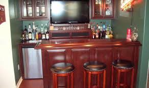 bar kitchen appealing small wood kitchen design and decoration