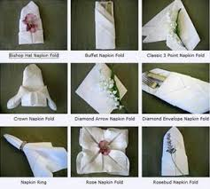 how to fold napkins for a wedding cocktail wedding napkins all about wedding