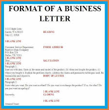 sample of business letter moa formatbusiness letter layout