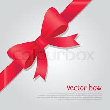 big ribbon vector bow illustration isolated ribbon and big bow with