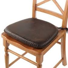 Chair Cushions Kohls Faux Leather Chair Pad Improvements By Improvements 14 99 The