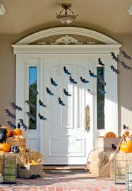 halloween door ideas cute halloween front porch decorations to greet your guests bats