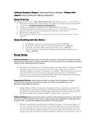 sample literary essays cover letter examples of critical essays free examples of play cover letter examples of critical analysis literature examples essay writing essaysexamples of critical essays extra medium