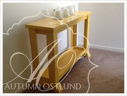 Do It Yourself Home Projects by Ana White Little Yellow Console Table Diy Projects