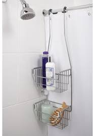 Shower Accessories Corner Shower Caddy Hane Bathroom Single Tier Corner Shower Caddy