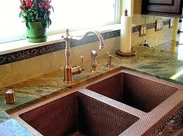 copper faucets kitchen eye catching what faucet goes with a copper sink nomadic decorator