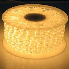 led rope light bulk reel warm white rope lights