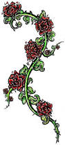56 best rose and vines tattoos images on pinterest drawings how