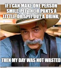Funny Meme Generator - sam elliot happy birthday imgflip