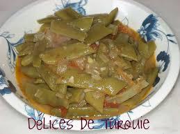 cuisiner des haricots verts frais haricots verts frais à l huile d olive zeytinyağlı taze fasulye