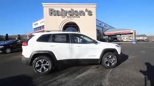 suv jeep white 2015 jeep cherokee trailhawk white ew318165 everett