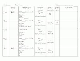 100 weekly lesson plan template 100 simple lesson plan template