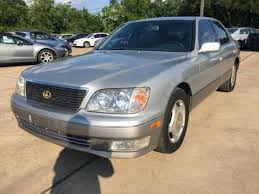 lexus parts houston tx 1998 used lexus ls 400 luxury sdn 4dr sedan at car guys serving