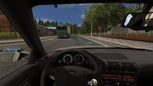 mod car game euro truck simulator 2 bmw e34m5 1 22 car euro truck simulator 2 mods