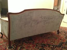 Vintage Curved Sofa by Re Upholstering An Antique Sofa The Diy Way U2013 Remodelicious