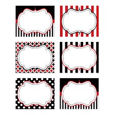 Printable Labels Pirate Printable Food Labels