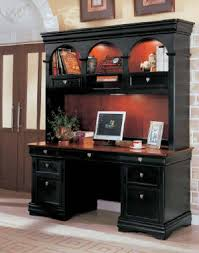 Hutch With Desk Black Computer Desk With Hutch Jpg