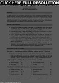 Sample Resume Skills by Sample Resume For Psychology Graduate Http Www Resumecareer