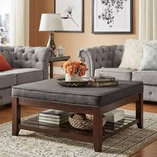 cushion top coffee table cm4457 granard coffee table with cushion top pertaining to ideas 4
