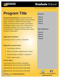 graduate program marketing presentation templates graduate