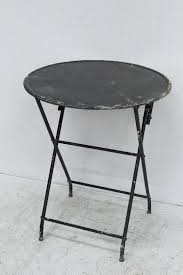 metal folding table outdoor outdoor round folding table rustic round folding small side metal