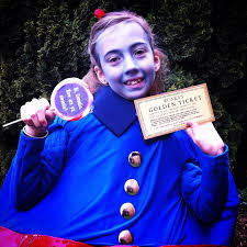 willy wonka halloween costumes coolest violet beauregarde costume semi homemade homemade