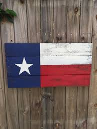 Texaa Flag Texas Flag Pallet Sign Recycled Pallet Sign Wooden Texas