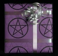 Halloween Gift Wrap - the spooky vegan 13 days of creepmas gothic halloween gift wrap