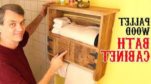 unique charm bathroom rustic pallet wood bath cabinet unique charm for your