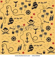 map pattern pirate map pattern stock vector 184239956