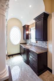 Bath Vanities Chicago Chicago Sauna Shower Combo Bathroom Traditional With Flooring Top