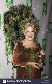bette midler dressed in a willow tree costume designed by martha