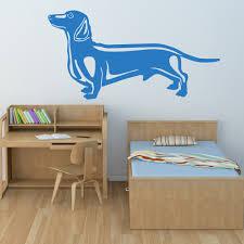 dog home decor dachshund sausage dog canine pet dogs wall stickers home decor art