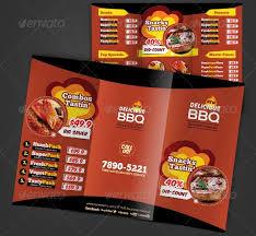restarunt brochure restaurant brochure design