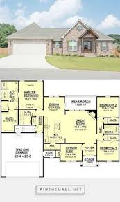 craftsman style house plan 21 246 one story 1509sf 3 bdrm