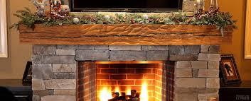 reclaimed wood mantel rustic fireplace mantel