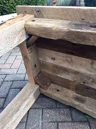 Wood Plans For Small Tables by Best 25 Barn Wood Tables Ideas On Pinterest Wood Tables