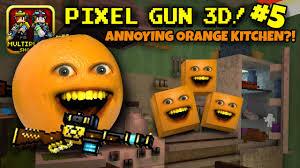 pixel gun 3d 5 annoying orange kitchen youtube