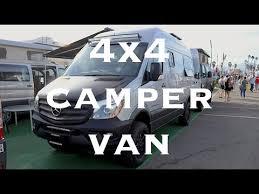Conversion Van With Bathroom Van Tour 4x4 Sprinter Adventure Van With Bathroom Youtube