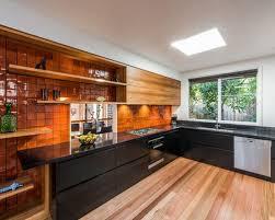 Orange Floor L Orange Kitchen Backsplash Ideas Houzz