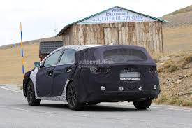 spyshots 2019 hyundai i40 wagon cw caught testing in the sierra