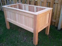 raised planter box system design garden with raised planter box