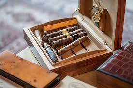 cigar table how to season a new humidor before storing cigars